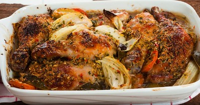 Savory Citrus And Herb Roasted Chicken