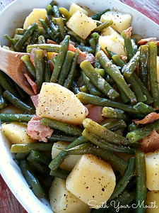 Southern Style Green Beans & Potatoes