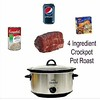 4 Ingredient Crockpot Pot Roast
