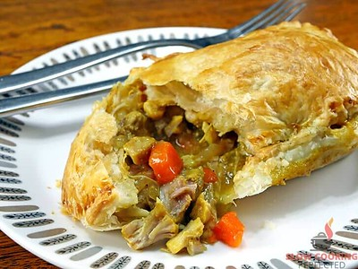 Slow Cooker Curry Chicken Pie Recipe
