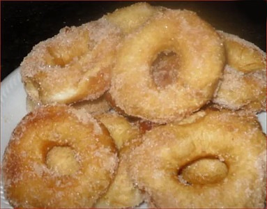 Sugar Donuts from Canned Biscuits
