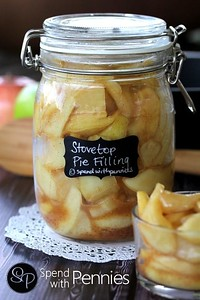 Quick Stovetop Apple Pie Filling