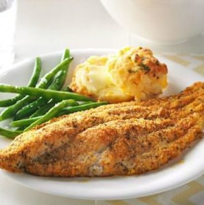 Cajun Spiced Baked Catfish