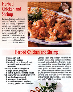 Herbed Chicken and Shrimp