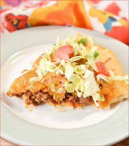 Pillsbury Crescent Roll Taco Bake