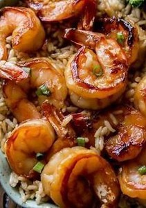 20 Minute Honey Garlic Shrimp