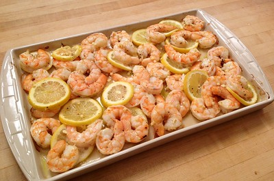 """Best"" Baked Shrimp"