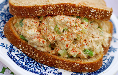 Amish Tuna Egg Salad