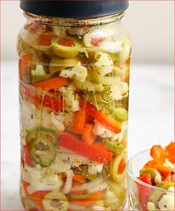 Giardiniera (Pickled Vegetables)