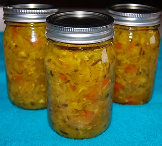 "Dennis Fox's ""Secret"" Zucchini Relish"