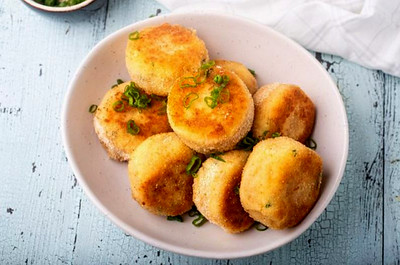 Potato Cakes from Leftovers