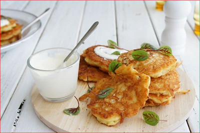Simple Potato Fritters
