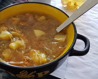 Ground Beef Cabbage Soup