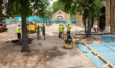 June 30th 2010.. Beresford square re paving
