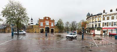 Beresford square on a rainy sunday morning in 2009