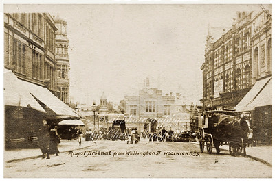 Early postcard Greens end towards Beresford square
