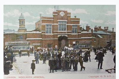 Early Postcard Beresford square