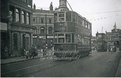 Early 1950s ?  Greens end towards Beresford square