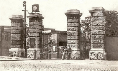Royal Arsenal Middle gates Plumstead road