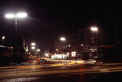 August 1967..  Bersford square night