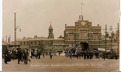 1920s...  Beresford square and Arsenal gates.