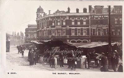 Approx' mid 1920s Beresford square postcard