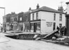 April 1st 1963.  sink hole appears in Plumstead road and an unfortunate lorry driver was first to find it