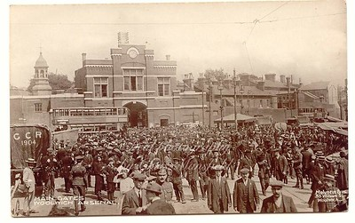 Approx' 1915 ?...Beresford square