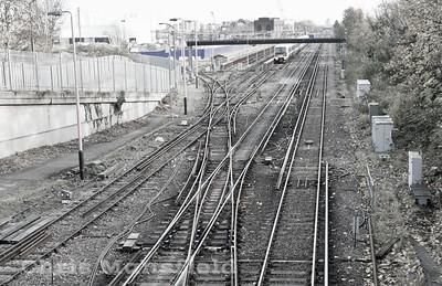 Dec' 5th 2013 .. Plumstead station sidings
