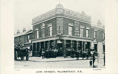 approx' 1900. The Royal Standard, Ann Street , Plumstead