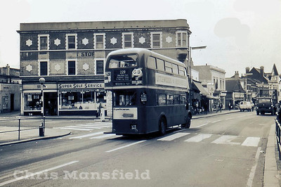 Plumstead high street at junction with Lakedale road
