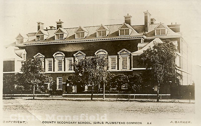 Approx' 1920..  Plumstead common secondary school