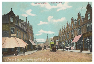 approx' 1900, Plumstead high street