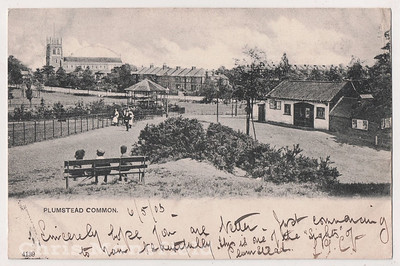 Old Postcard dated may 1903 .