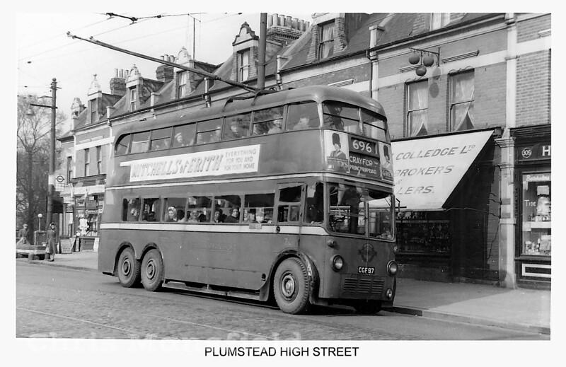 Late 1950s .  Plumstead high street