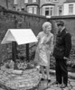 1971.  Mayor Marie Kingwell at Plumstead Police station garden
