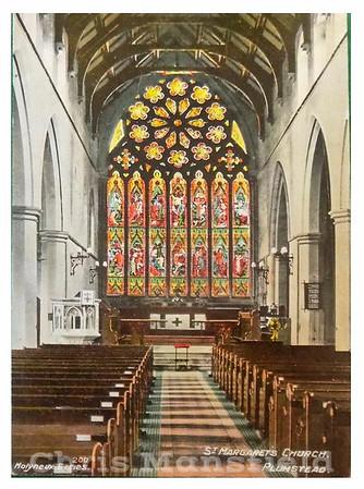 St Margarets church interior