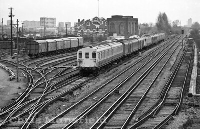 1983 .. Stock yard at Plumstead station