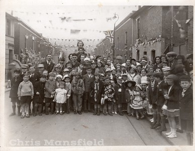 Not too sure on the location of this one... I was told Plumstead but cant verify ... I am guessing its a coronation party