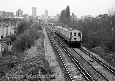 Dec' 1983 railway between Abbey wood and Plumstead