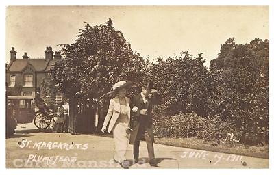 """1911 Postcard entitled """"St Margarets"""""""