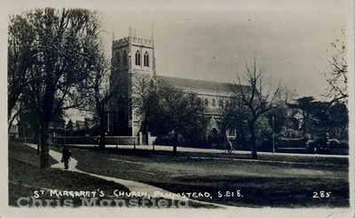 St Margarets  church Plumstead