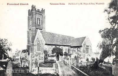 Early Postcard, St Nicholas church