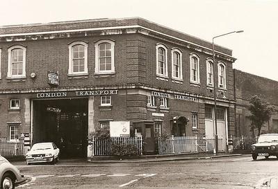 1981 ...  Plumstead Bus garage