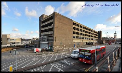 Feb' 13th 2009.. Calderwood st car park