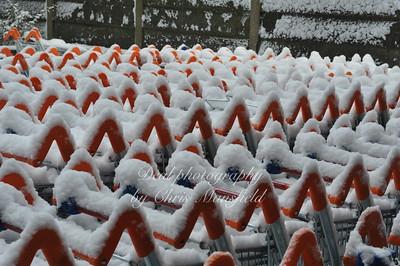 Feb 2nd 2009 .. Sainsburys trollies under snow