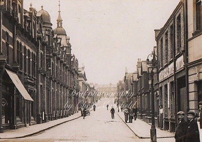 Early Postcard ..   William street ( Calderwood street )