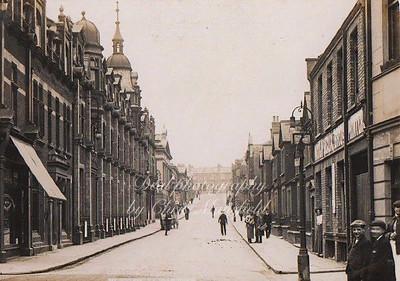 Early Postcard ..   William street ( Calderwood street )