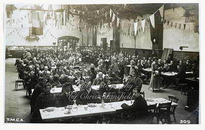 Arsenal workers YMCA dining hall