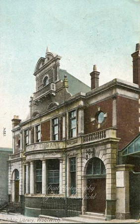 About 1905 Woolwich Public Library , Calderwood street